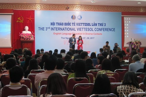 Int'l conference on English training held in Thai Nguyen hinh anh 1