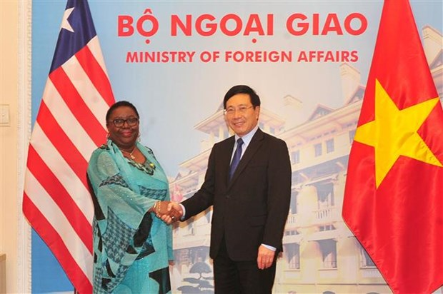 Vietnam, Liberia strive to triple trade revenue hinh anh 1