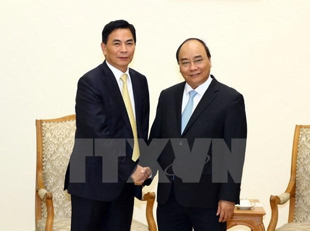 PM Nguyen Xuan Phuc hosts Hong Kong's Jia Yuan chairman hinh anh 1