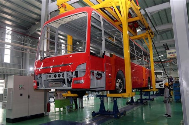 Thaco bus manufacturing plant inaugurated hinh anh 1