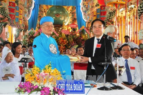 Cao Dai Tay Ninh Church holds congress for 2017-2022 tenure hinh anh 1
