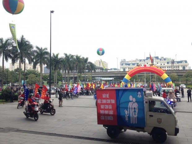 Health ministry launches national action month on population hinh anh 1