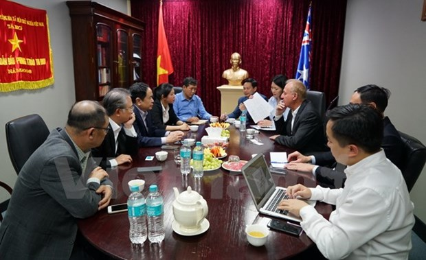 Vietnam Fatherland Front to help push aquatic exports to Australia hinh anh 1