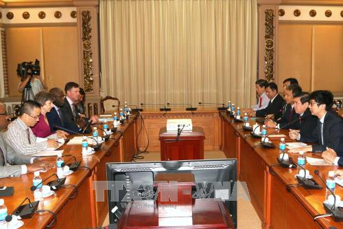 HCM City highly appreciates WB's support hinh anh 1