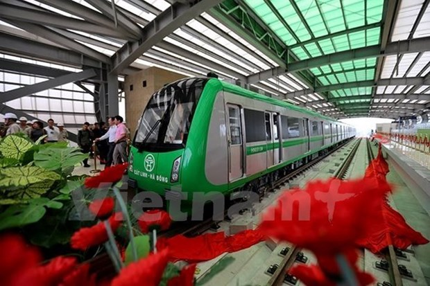 Test run of Cat Linh-Ha Dong railway delayed until next September hinh anh 1