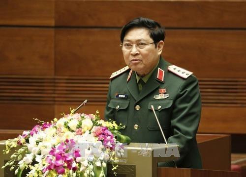 Defence Minister hosts US Ambassador hinh anh 1