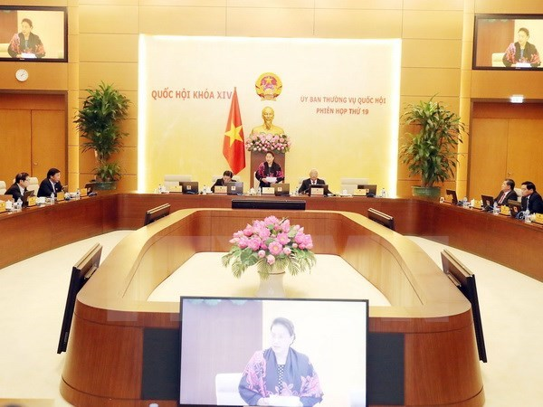 NA Standing Committee's 19th session opens hinh anh 1