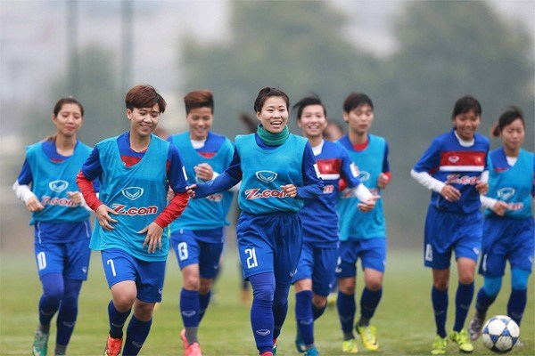 Vietnam to face tough task at Asian Women's Cup hinh anh 1
