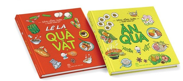 Two-volume art book features Vietnamese cuisine hinh anh 1