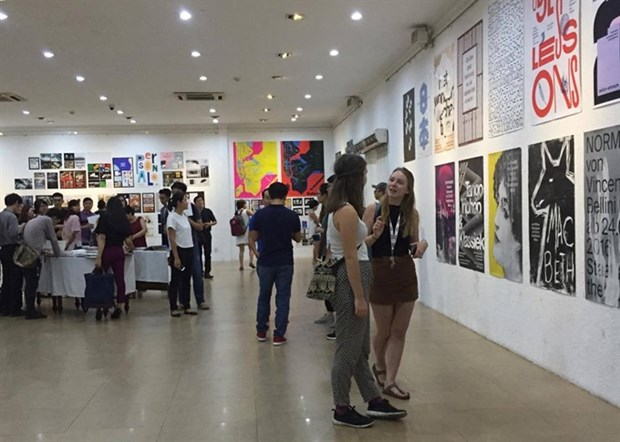World's best typography on show in HCM City hinh anh 1