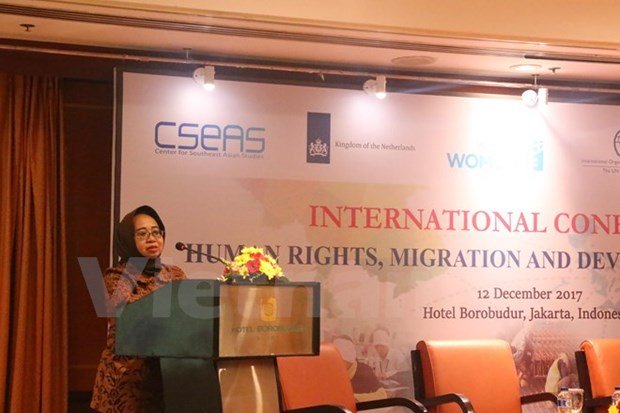 Conference talks migration for employment in Indonesia hinh anh 1
