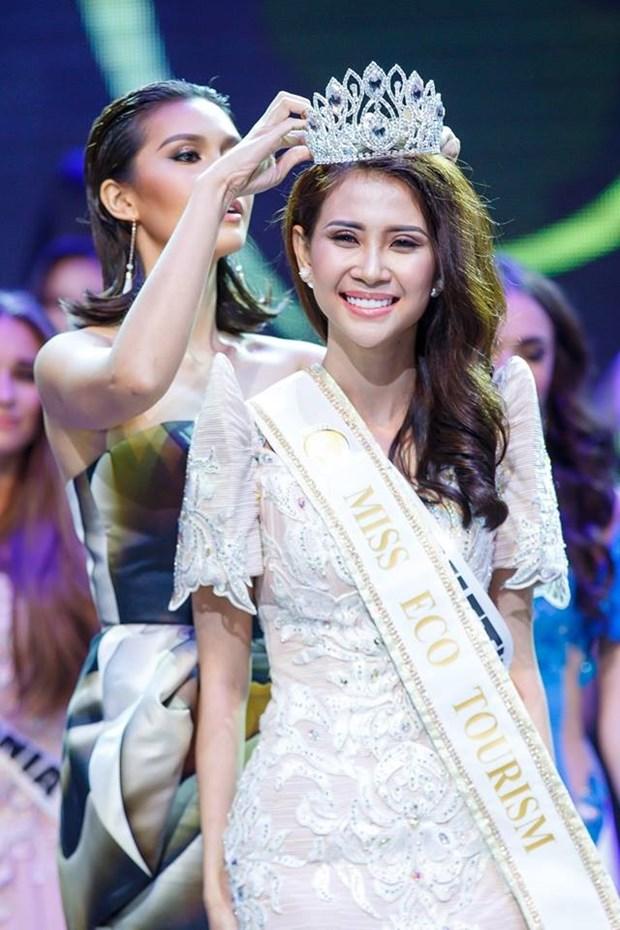 Miss VN crowned Miss Eco Tourism Ambassador 2017 hinh anh 1