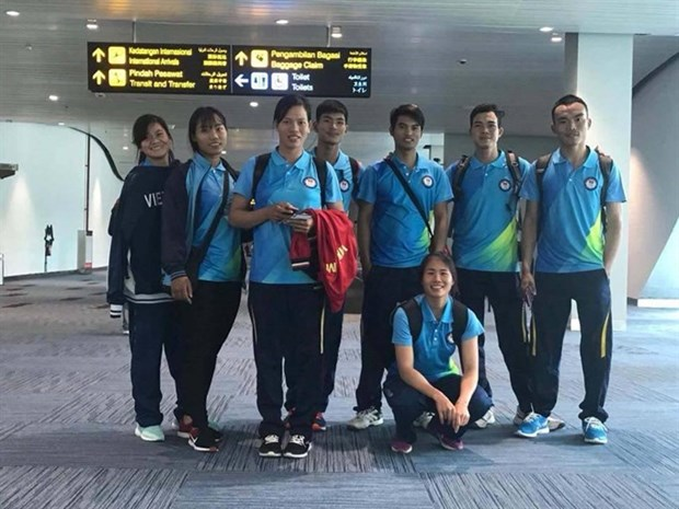 Vietnamese rowers secure five golds at Asian Cup hinh anh 1