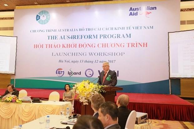 Australia renews commitment to support Vietnam's economic reform hinh anh 1
