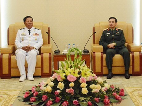 Army chief commits support to Vietnam-Cambodian naval ties hinh anh 1