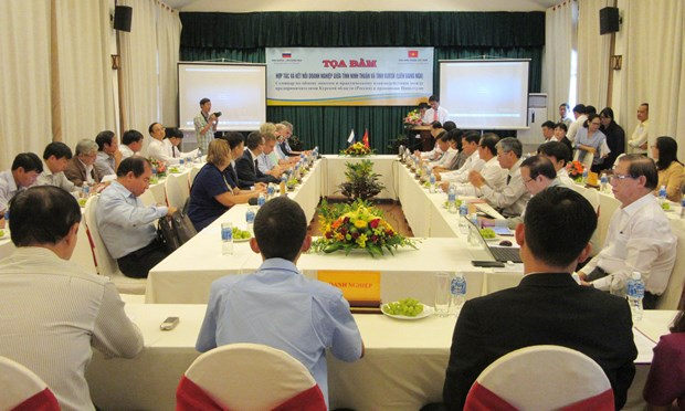 Coastal Ninh Thuan enhances cooperation with Russian province hinh anh 1