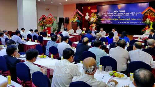 Catholic solidarity committee reviews 2017 work hinh anh 1