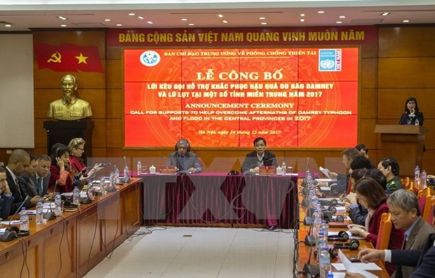 Vietnam calls for more support to disaster-hit residents hinh anh 1
