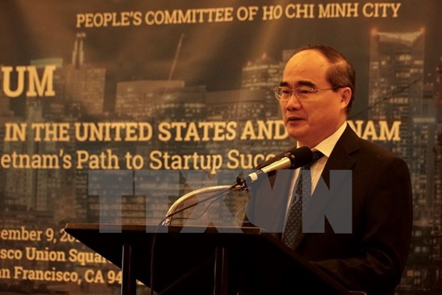 HCM City wants US universities' support in startup promotion hinh anh 1