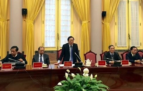 Presidential Office announces six new laws hinh anh 1