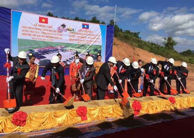 Vietnam builds school for northern bordering Lao province hinh anh 1