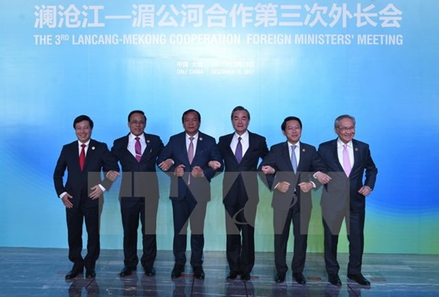 Mekong-Lancang foreign ministers convene third meeting in China hinh anh 1