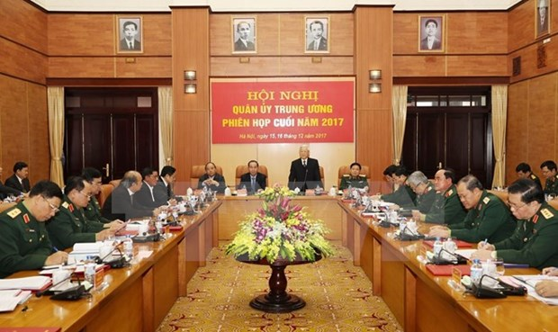 Party chief directs Central Military Commission's work for 2018 hinh anh 1