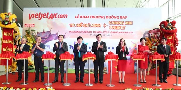 Vietjet links Ho Chi Minh City to Thailand's Phuket, Chiang Mai hinh anh 1