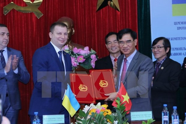 Dong Nai, Ukrainian locality to cooperate in developing IZs hinh anh 1