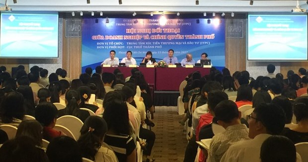 HCM City talks tax with businesses hinh anh 1