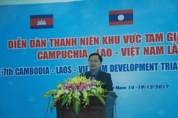 7th CLV youth forum opens in Binh Phuoc hinh anh 1
