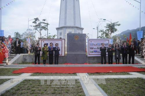 New flag tower inaugurated in Lao Cai northern border province hinh anh 1
