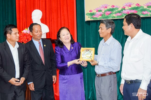Cambodia learns from Soc Trang's experience in religious affairs hinh anh 1