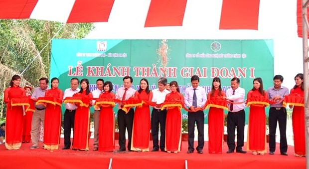 Binh Thuan's first waste treatment complex put into operation hinh anh 1