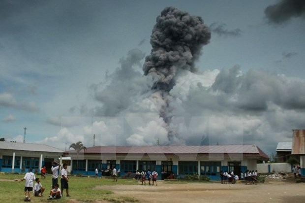 Indonesia: Sinabung volcano erupts hinh anh 1