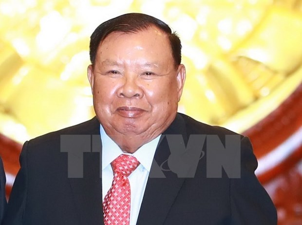 Lao Party chief, President Bounnhang Vorachith's visit to boost bilateral ties hinh anh 1