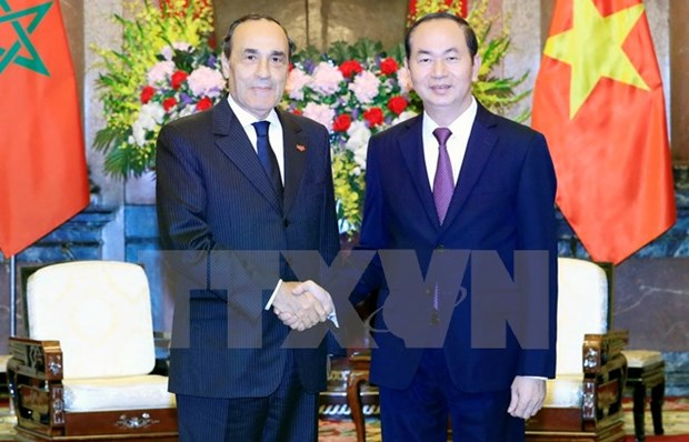 Vietnam welcomes Moroccan investors: President hinh anh 1
