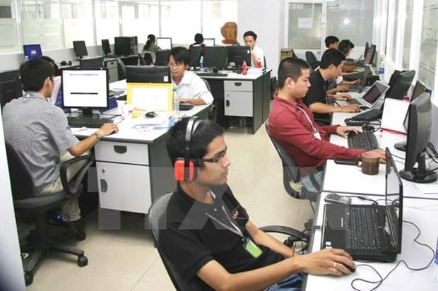 Vietnam, Cambodia hold ICT cooperation forum hinh anh 1