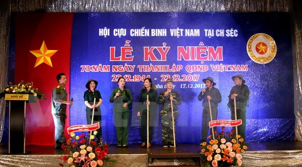 Vietnam People's Army Day marked in Czech Republic hinh anh 1