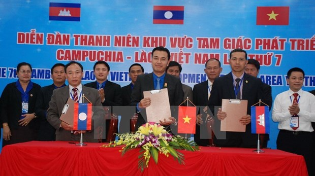 CLV youth forum issues joint statement hinh anh 1