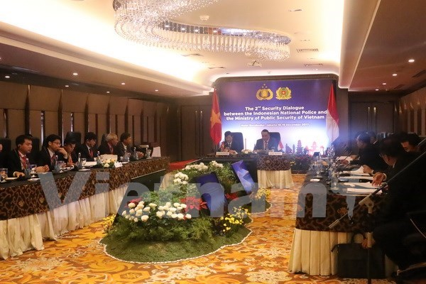 Vietnam, Indonesia forge crime prevention at second security dialogue hinh anh 1