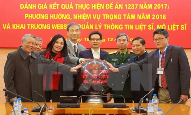 Vietnam completes 95 pct of martyr remains recovery plan hinh anh 1