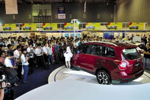 Over 300 exhibitors to join auto fair in HCM City hinh anh 1