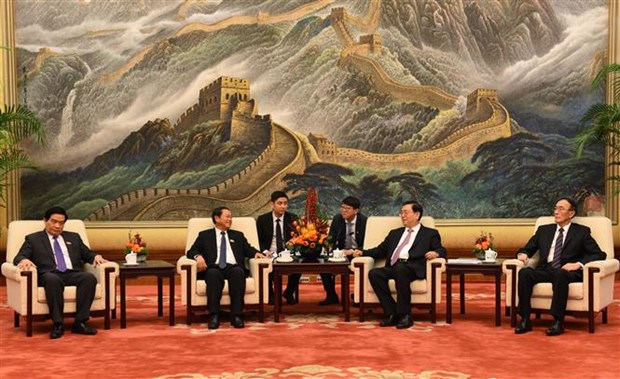 NA Vice Chairman Do Ba Ty visits China hinh anh 1