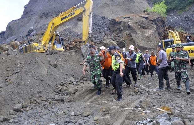 Indonesia: Landslide kills eight sand miners hinh anh 1