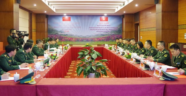 Vietnamese, Chinese localities work on border management hinh anh 1