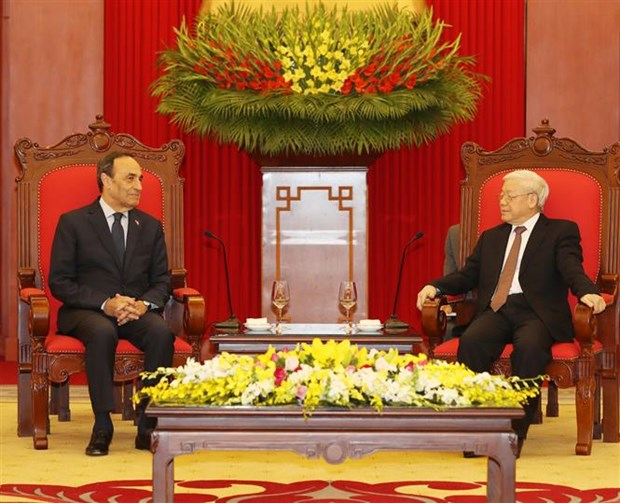 Party chief: Vietnam, Morocco should intensify bilateral ties hinh anh 1