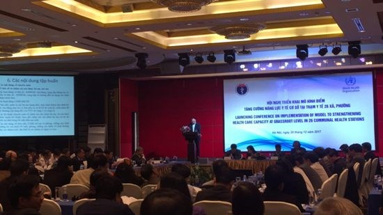 Vietnam increases grassroots health care services hinh anh 1
