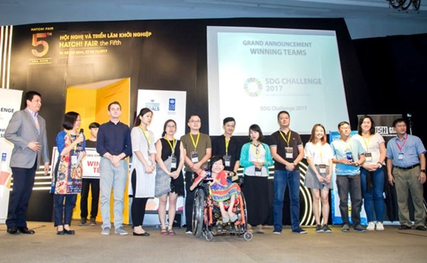 SDG Challenge 2017 competition names four winners hinh anh 1