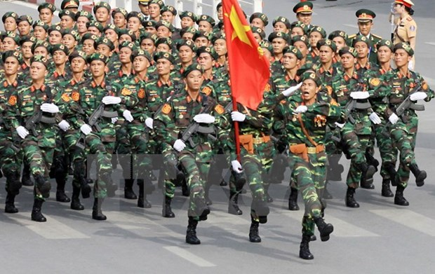 President commends heroic Vietnam People's Army hinh anh 1